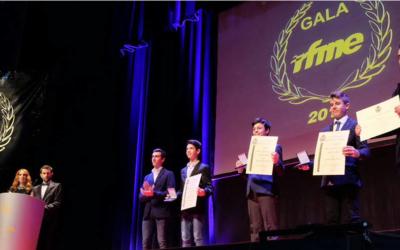 BeOn recoge sus dos títulos de Campeón de España en la Gala RFME 2015