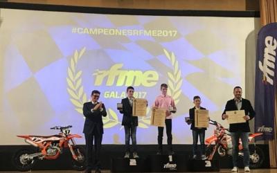 BeOn recoge su título de Campeón de España de 85 GP en la Gala RFME 2017