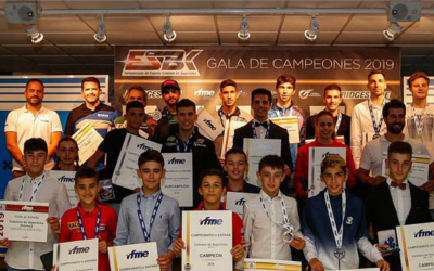 BeOn Marca Campeona del Campeonato de España Cetelem de Superbike 2019 de PreMoto3 y Moto4